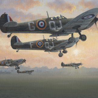 First Light - Battle of Britain July 1940 Spitfire