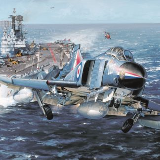 HMS Ark Royal Phantom By Philip West