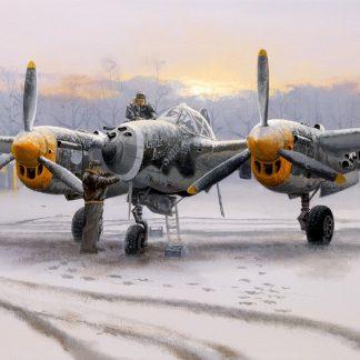 Winter of 44 - P 38 Lightning