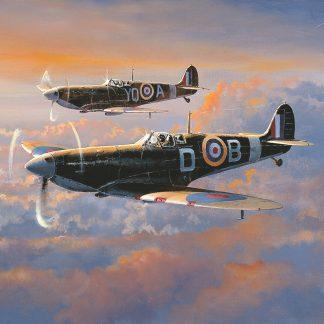 Spitfire Patrol - Philip West
