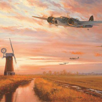 Blenheims Over Norfolk