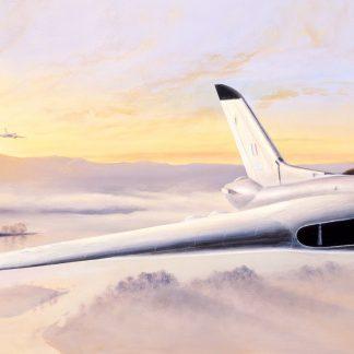 Constant Alert - Avro Vulcan by Stephen Brown