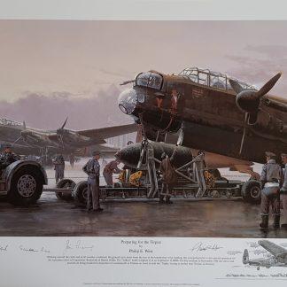 Preparing For The Tirpitz-Lancaster