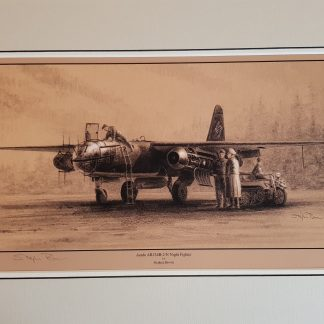 Arado AR234B-2/N Night Fighter By Stephen Brown