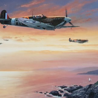 Channel Sweep - Spitfire By Stephen Brown