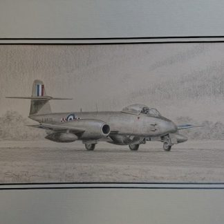 Gloster Meteor F8 By Stephen Brown