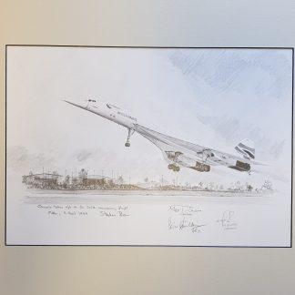 Concorde Take off Filton By Stephen Brown