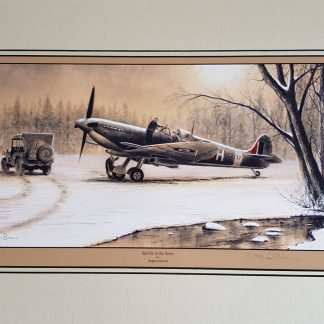 Spitfire in the Snow By Stephen Brown