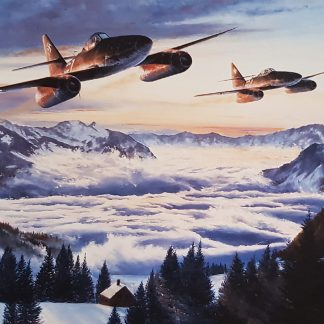 Stormbird Sunrise - Me 262