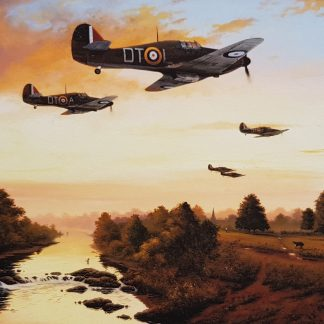 1940 - Summer of Legends - Hurricane By Stephen Brown