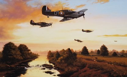 1940 - Summer of Legends - Hurricane By Stephen Brown