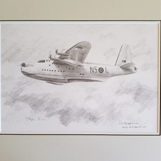 Sunderland - Original Pencil Drawing by Stephen Brown