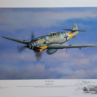 The Black Tulip Me 109 Philip West