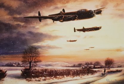 Last Mission Before Christmas - Avro Lancaster Stephen Brown