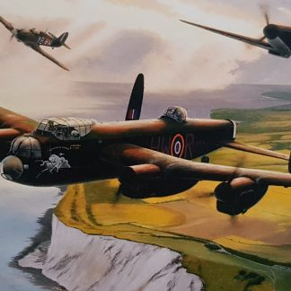 Lest We Forget - Lancaster by Stephen Brown
