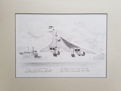 Concorde 01 Farnborough By Stephen Brown