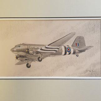 Douglas C-47 Dakota By Stephen Brown