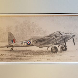 Mosquito FB Mk VI of 487 Squadron Original by Stephen Brown