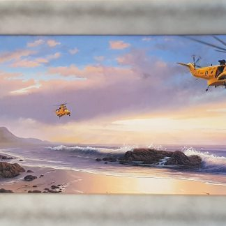 A Royal Rescue Sea King By Stephen Brown