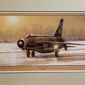 Lightning in the Snow By Stephen Brown
