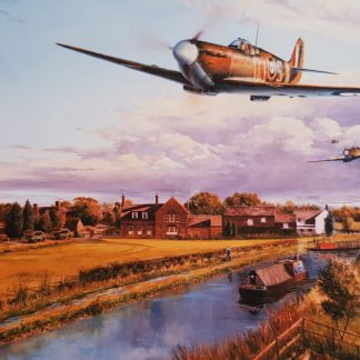 Pinpoint Navigation - Spitfire By Stephen Brown
