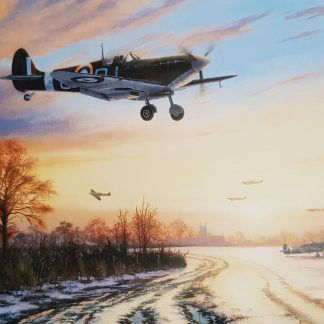 Spitfires Safely Home By Stephen Brown