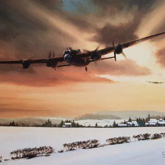 Winter Stragglers - Avro Lancaster