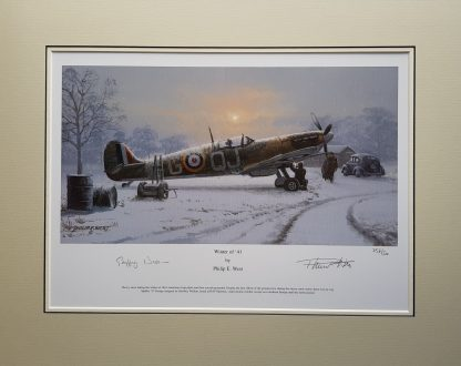 Winter Of 41 Mounted