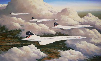 Cloud Companions-Concorde Stephen Brown
