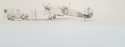 Hurricane, Stephen Brown Aviation Artist