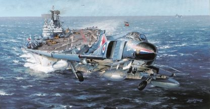 HMS Ark Royal (Greetings Card)