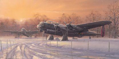 A winters Dawn (Greeting Card)