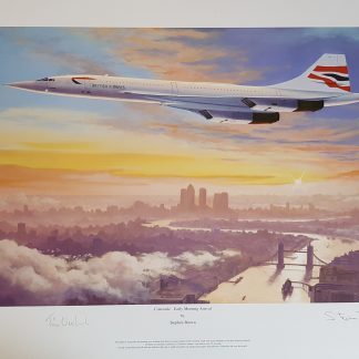 Concorde Early morning arrival