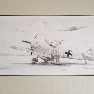 Me 109 JG 52 original Stephen Brown