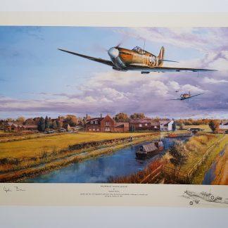 Pinpoint Navigation Remarque Edition (Stephen Brown Aviation Artist)