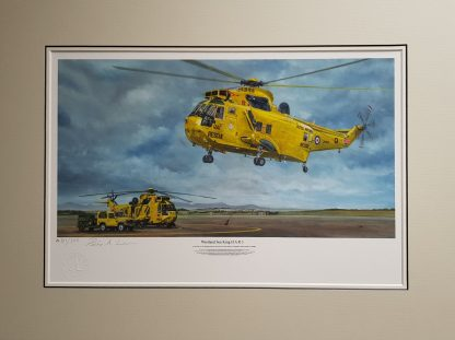 Westland Sea King mounted