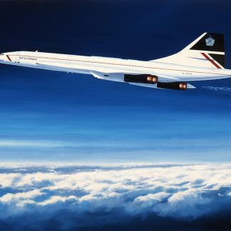 Concorde - The Supersonic Thoroughbred greeting card