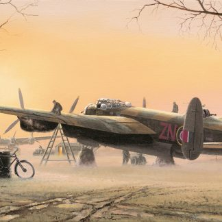 Lancasters at the Ready greeting card