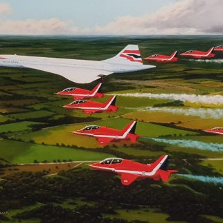The Jubilee Flight greeting card