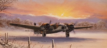 Blenheim IV Winter Ops Greeting Card