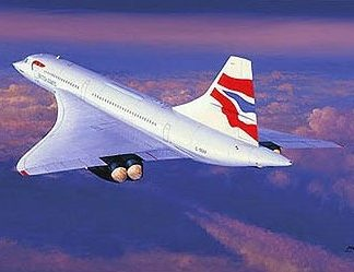 Farwell Concorde Greeting Cards